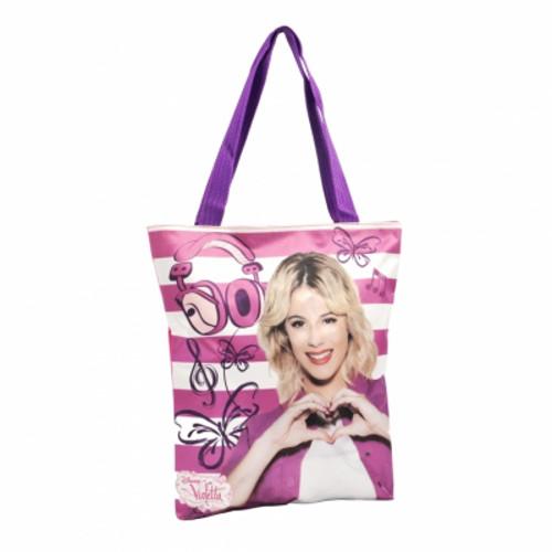 Geanta Shopping Violetta Roses