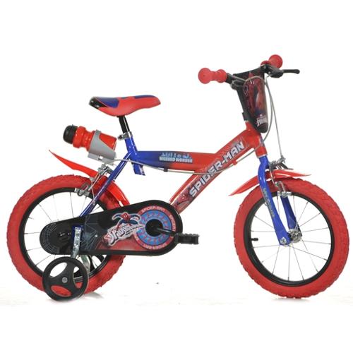 Bicicleta 143G Seria Spiderman, 14 inch