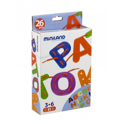 Miniland Joc cu Litere de Insirat