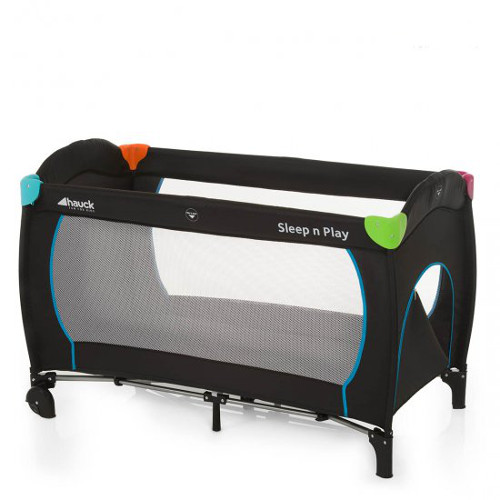 Pat Voiaj Sleep and Play Go Plus Multicolor Black