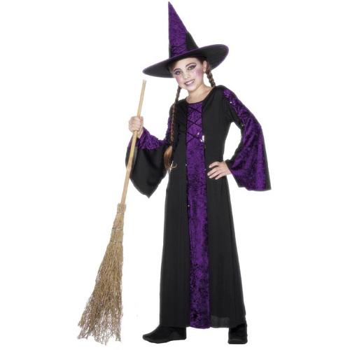 Smiffys Costum Vrajitoare Mov