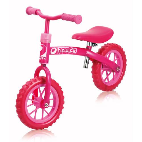 Hauck Bicicleta fara Pedale E-Z Rider 10 Bubble Pink