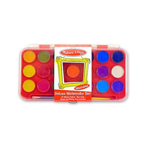 Melissa and Doug Set Acuarele 21 Culori