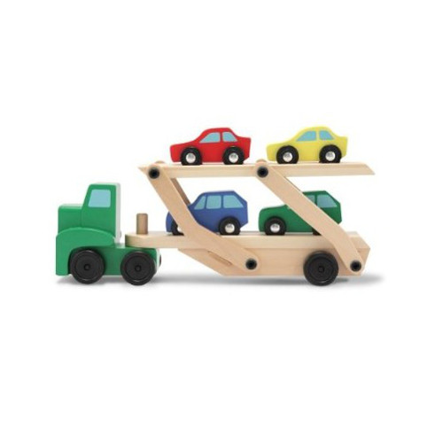 Melissa and Doug Camion Transportor de Masini