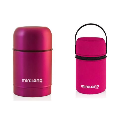 Termos Mancare Solida 600 ml Pink