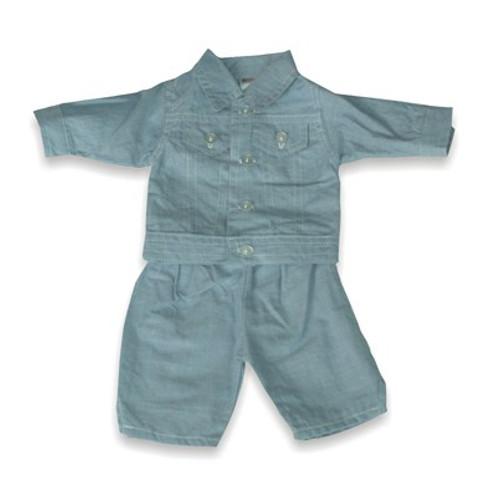 Set Costum Jeans pentru Papusi 38-42 cm