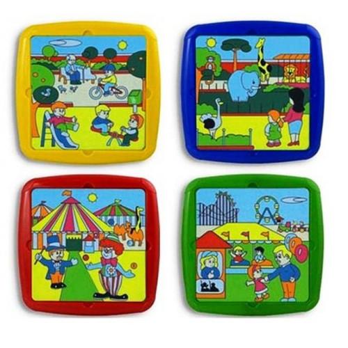 Set 4 Puzzle Timpul Liber