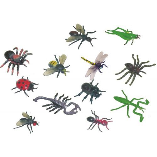 Set 12 Figurine Insecte