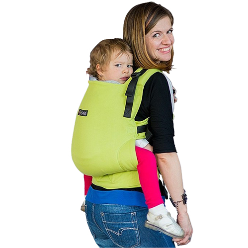 Isara Marsupiu Toddler Wrap Conversion Organic Lime