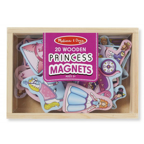 Melissa and Doug Printese Magnetice din Lemn