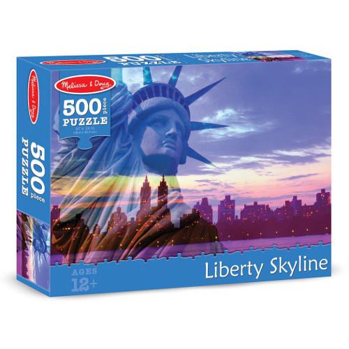 Melissa and Doug Puzzle 500 Piese Statuia Libertatii