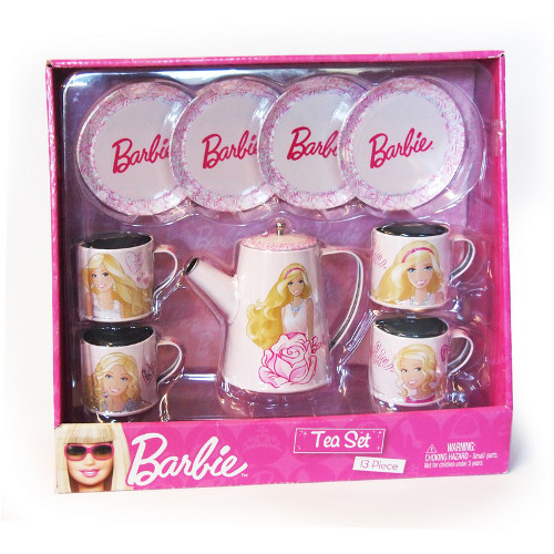 Faro Set Metalic Ceai Barbie