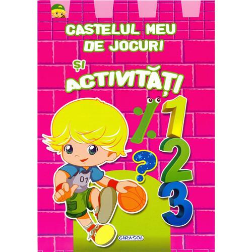 Castelul Meu de Jocuri si Activitati Roz