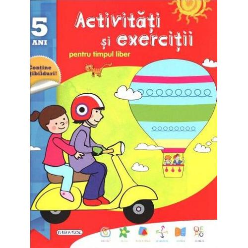 Activitati si Exercitii pentru Timpul Liber 5 Ani