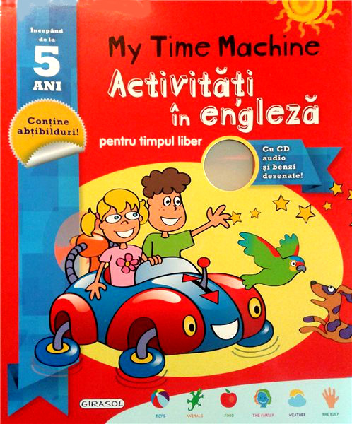 Activitati si Exercitii in Engleza cu CD pentru Timpul Liber 5 Ani