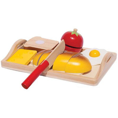 New Classic Toys Platou Micul Dejun de Jucarie