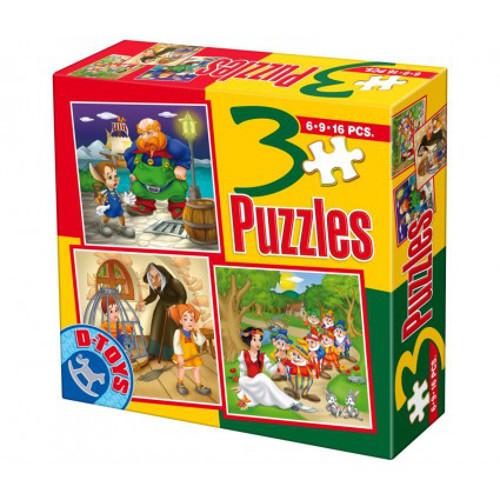 Puzzle 3 Progresiv Basme Model 8