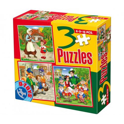 Puzzle 3 Progresiv Basme Model 7