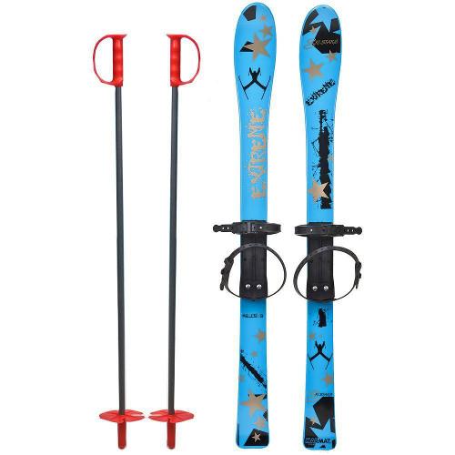 Skiuri Copii 90 cm Albastre thumbnail