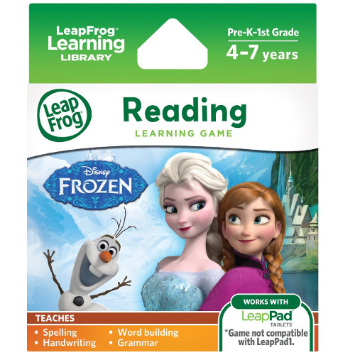 Soft Educational LeapPad Frozen