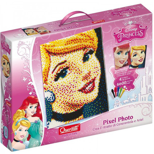 Quercetti Fantacolor Pixel Disney Princess