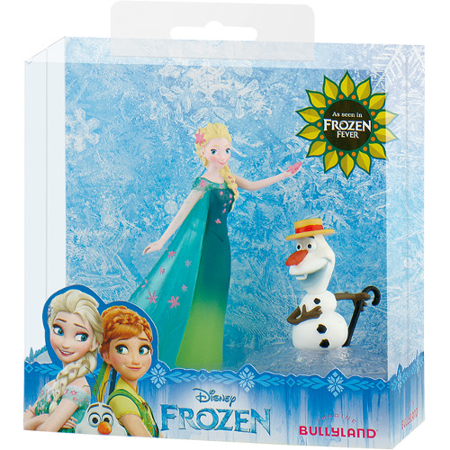 Set Figurine Elsa si Olaf Frozen Fever