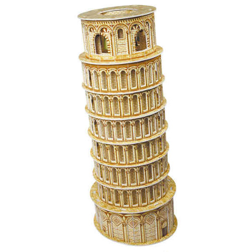Puzzle 3D Turnul Inclinat din Pisa