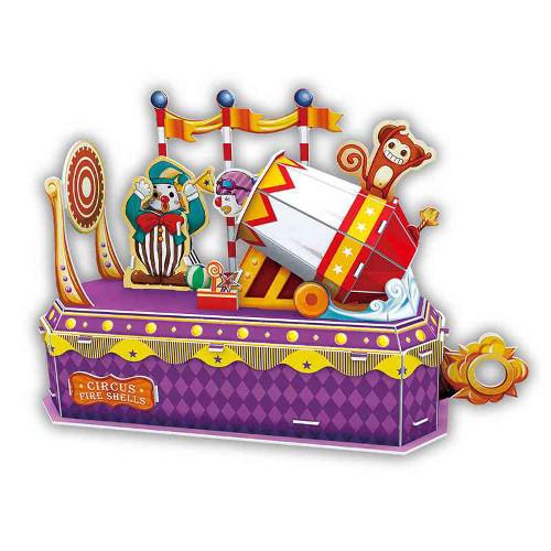 Puzzle 3D Circus - Clown