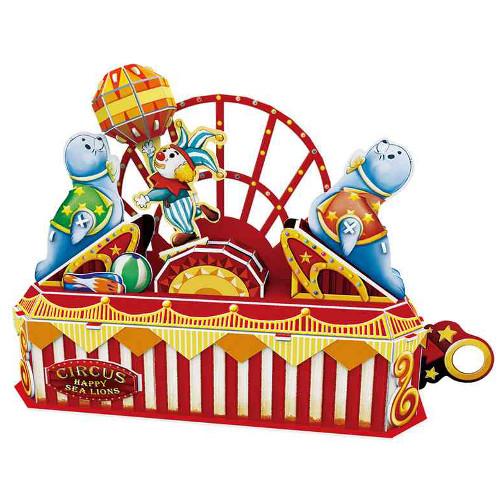 Puzzle 3D Circus - Happy Sea Lion