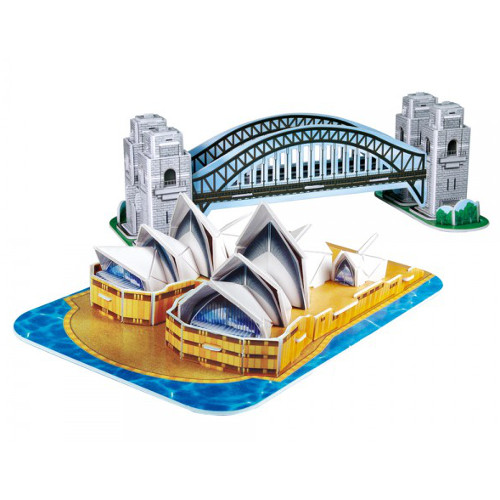 Puzzle 3D Obiective Turistice Sydney