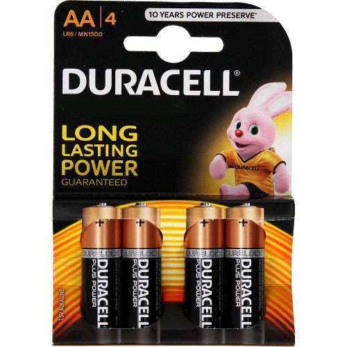 Duracell Set 4 Baterii Tip AA Long Lasting Power