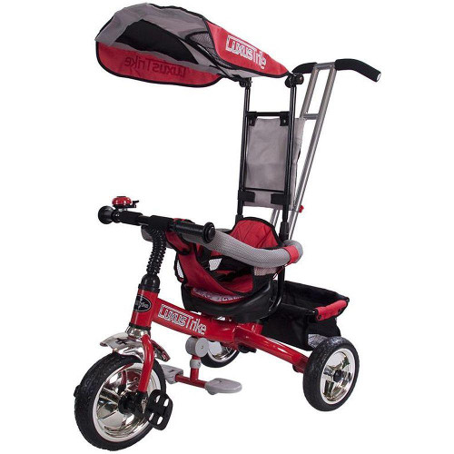 Sun Baby Tricicleta Lux Rosu