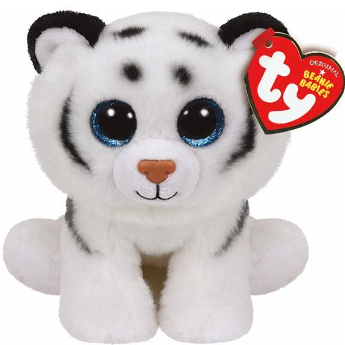 Ty Plus Tigrul Alb Tundra 24 cm