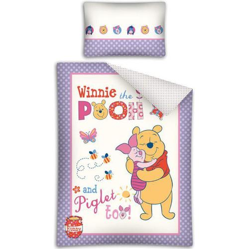 Lenjerie de Pat Winnie the Pooh 100x135cm Mov