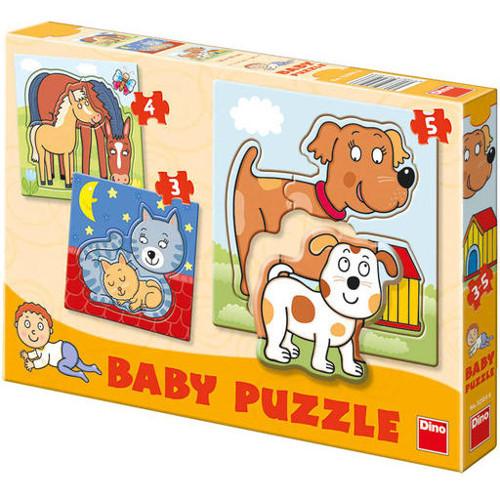 Set Puzzle-uri Animale 3-5 Piese