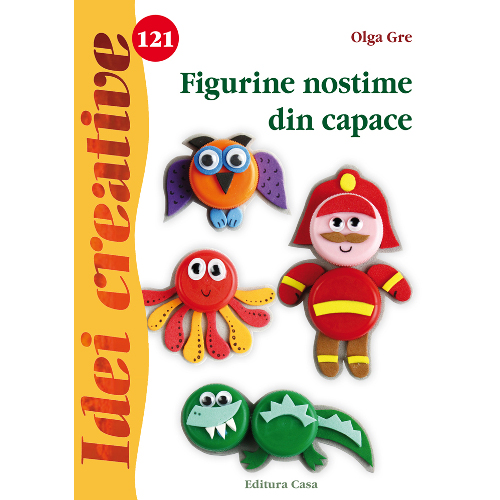 Figurine Nostime din Capace 121 - Idei Creative