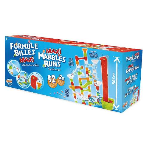 Buki France Joc de Constructie – Labirint Mare cu Bile – 92 Piese