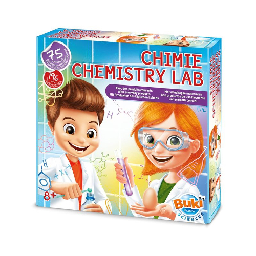 Buki France Laboratorul de Chimie – 75 de Experimente