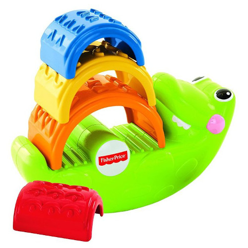 Fisher-Price Crocodilul Piramida