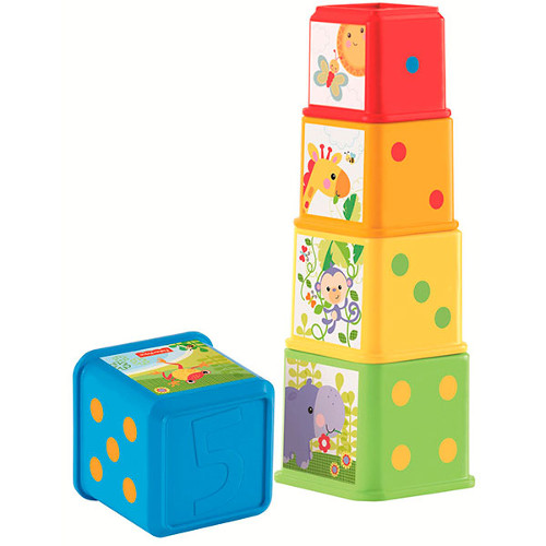 Fisher-Price Piramida din Cuburi