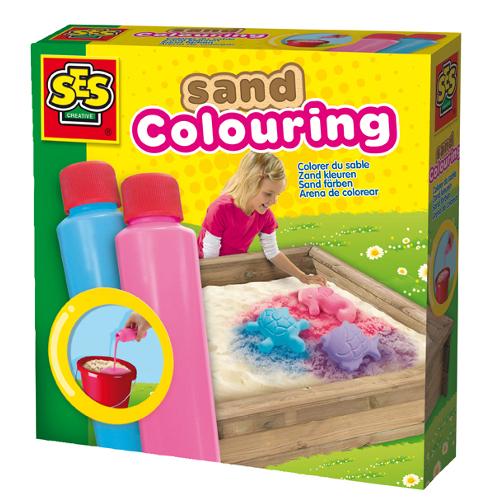 SeS Set Vopsea pentru Nisip – Albastru Roz