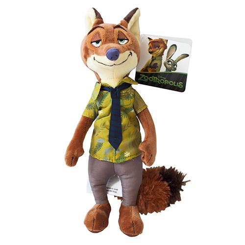 Mascota din Plus Zootropolis Nick Wild 17.5 cm