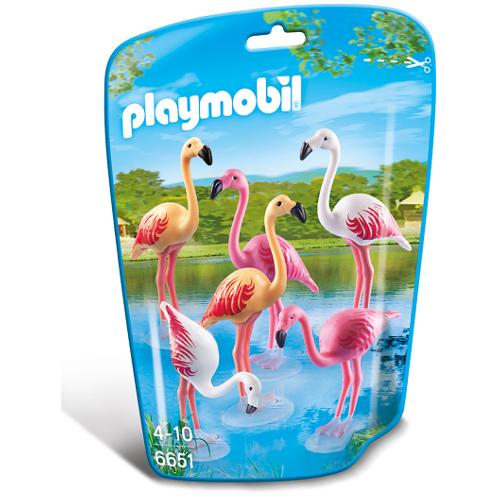 Familie de Flamingo