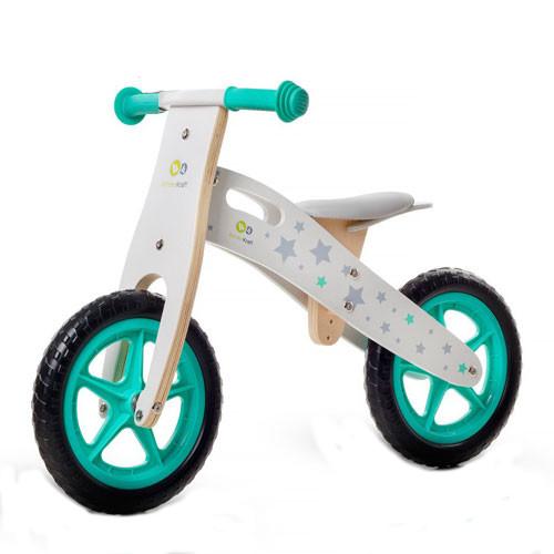 Bicicleta din lemn fara pedale Runner Stars Deluxe thumbnail