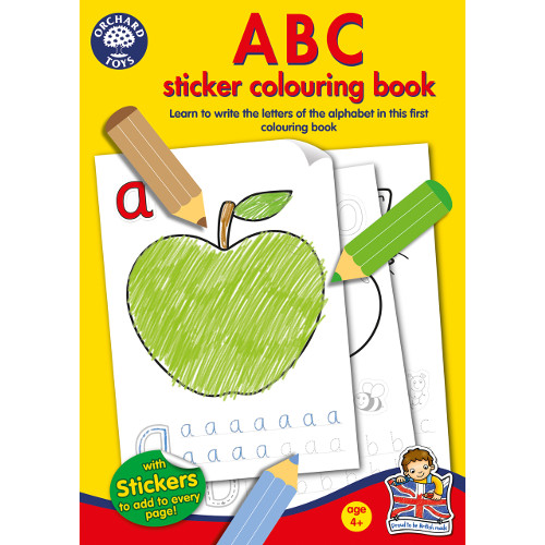 Carte de Colorat cu Activitati in Limba Engleza si Abtibilduri ABC thumbnail