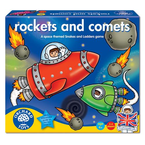 Joc de Societate Rachete si Comete