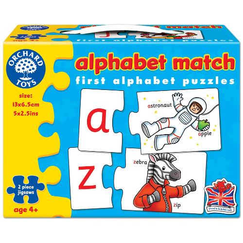 Orchard Toys Joc Educativ in Limba Engleza Invata Alfabetul prin Asociere