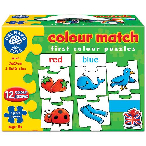 Orchard Toys Joc Educativ in Limba Engleza Invata Culorile prin Asociere