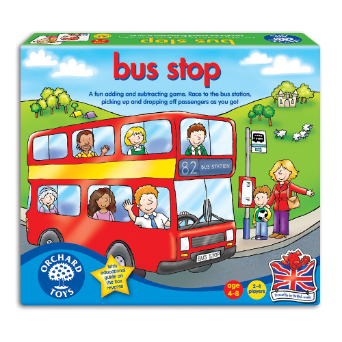 Orchard Toys Joc Educativ Autobuzul