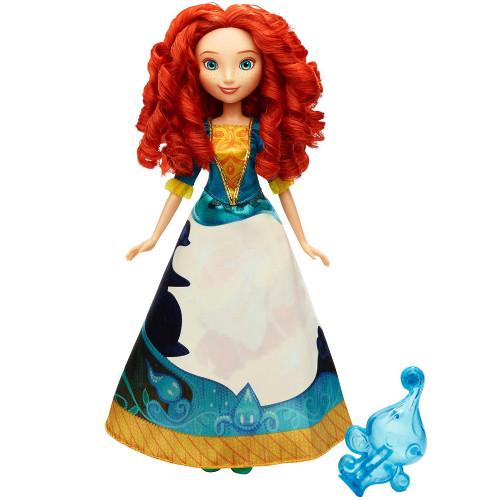 Papusa Disney Princess Merida cu Rochie Magica